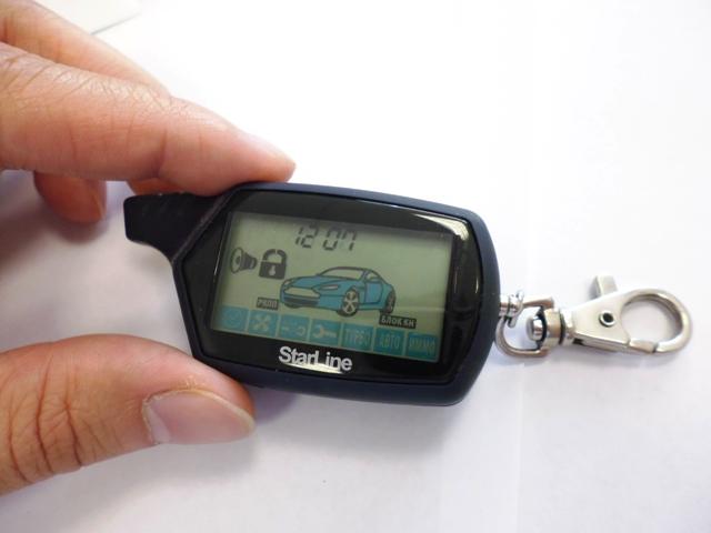 как поменять батарейку в брелке сигнализации киа